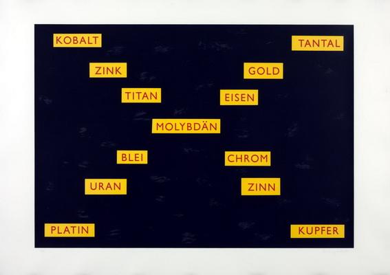 Metals, 1985 - Lothar Baumgarten