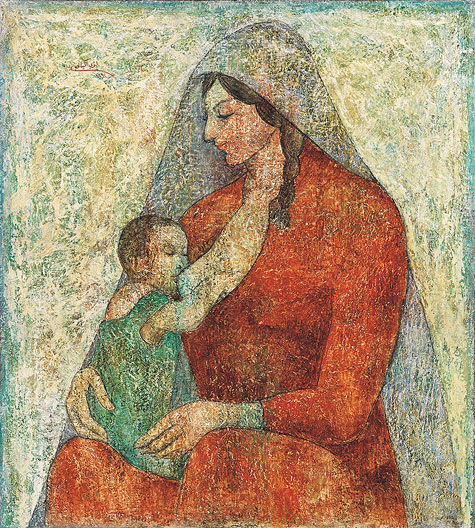 The Mother, 1961 - Louay Kayyali
