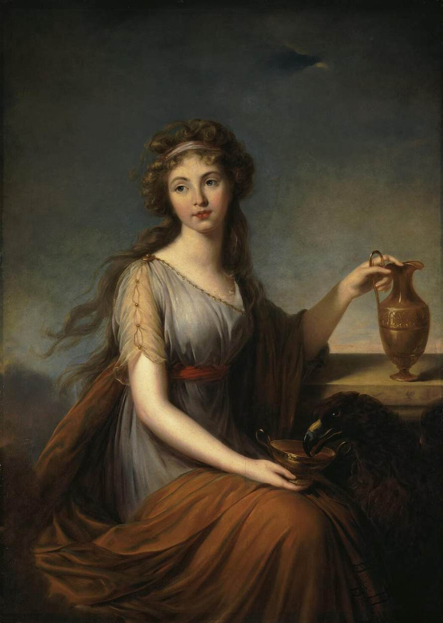 elizabeth louise vigée le brun Louise-elisabeth vig e-lebrun at olga's gallery one of the largest collections of paintings online featuring hundreds of artists and thousands of works large, high-quality images biographies, historical commentary, religious and mythological notes.