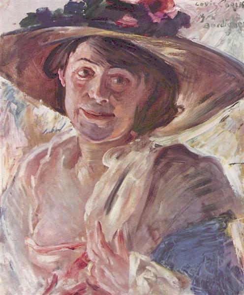Porträt der Charlotte Berend-Corinth - Ловис Коринт