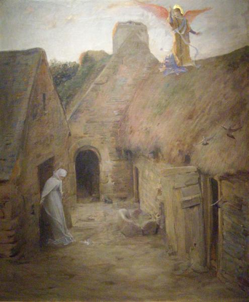 The Annunciation, 1908 - Люк-Олів'є Мерсон