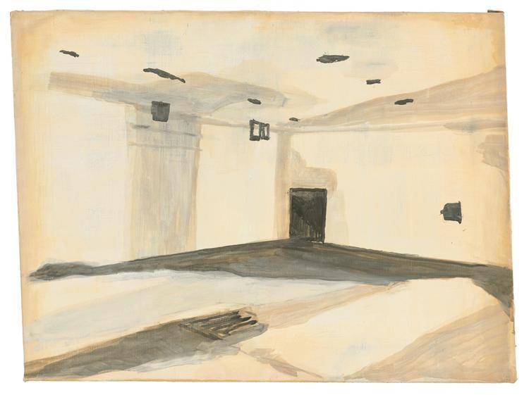 Gas Chamber, 1986 - Luc Tuymans