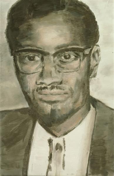 Lumumba, 2000 - Luc Tuymans