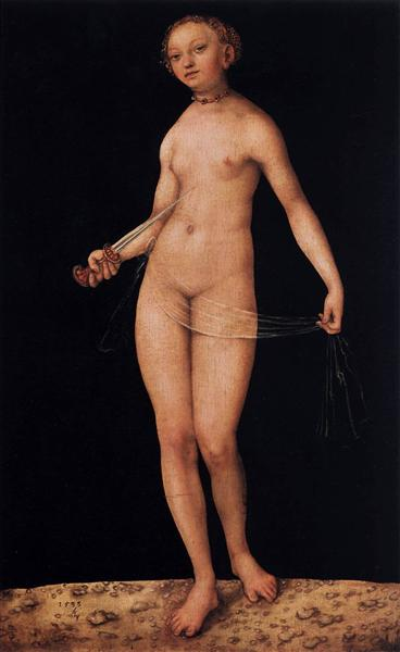Lucretia, 1533 - Lucas Cranach the Elder