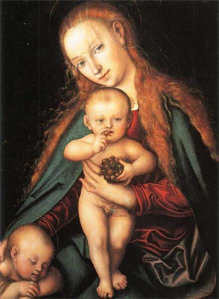 Madonna and Child, 1540 - Lucas Cranach der Ältere