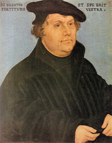 Martin Luther, c.1532 - Lucas Cranach der Ältere