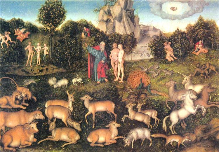 Paradise, 1536 - Lucas Cranach der Ältere