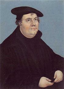 Портрет Мартина Лютера - Лукас Кранах Старший
