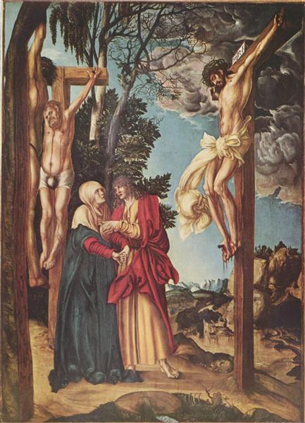 The Crucifixion, 1503 - Lucas Cranach l'Ancien