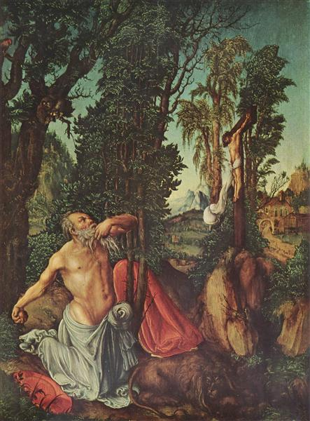 The Penitence of St. Jerome, 1502 - Lucas Cranach the Elder