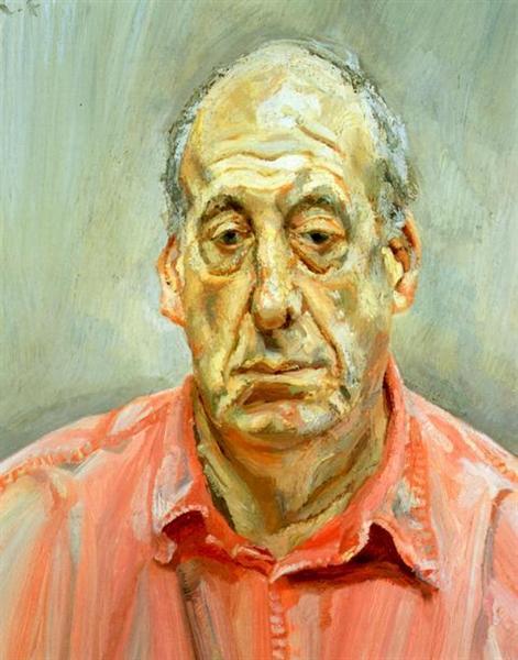 Francis Wyndham, 1993 - Lucian Freud
