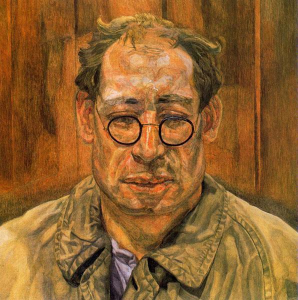 Мужчина в плаще, 1957 - 1958 - Люсьен Фрейд