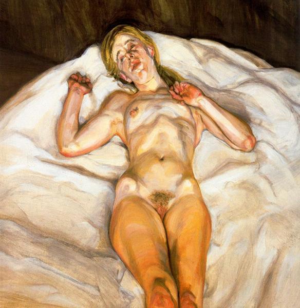Naked Girl, 1966 - Lucian Freud
