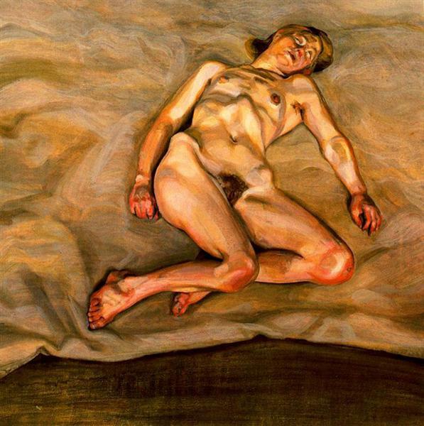 Naked girl asleep