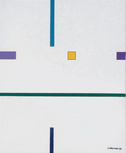 Composizione Ken 3, 1982 - Luigi Veronesi