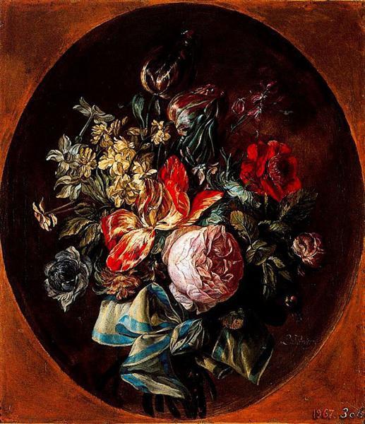 Flowers - Luis Paret y Alcazar