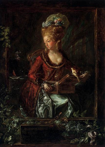 Maria de las Nieves Micaela Fourdinier, 1785 - Luis Paret y Alcázar