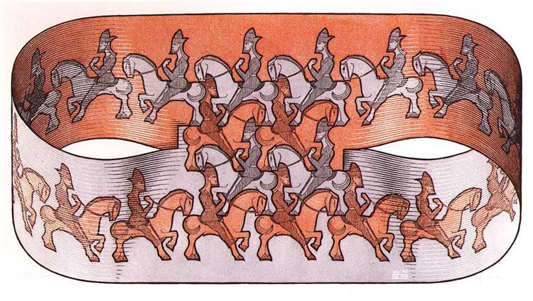 Horseman, 1946 - M.C. Escher