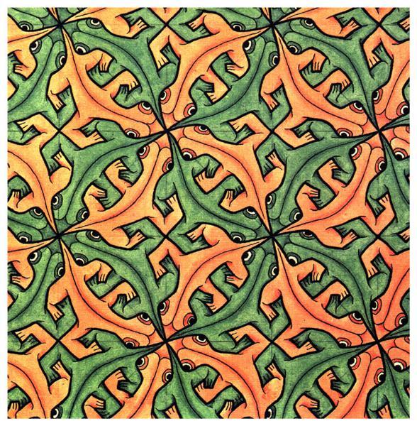 Lizard 2 - Escher M.C.