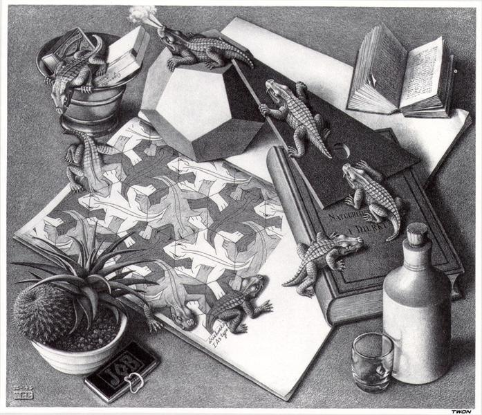 Reptiles, 1943 - M.C. Escher