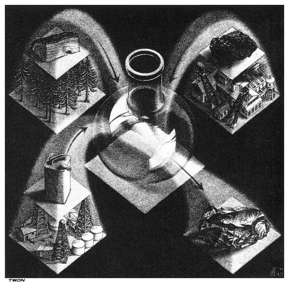 Synthesis, 1947 - M.C. Escher