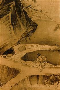Dancing and Singing (Peasants Returning from Work) (detail 2) - Ma Yuan