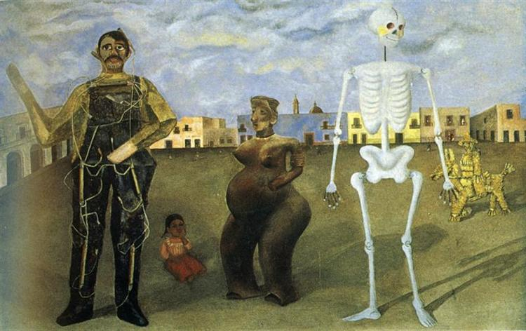 Four Inhabitants of Mexico, 1938 - Frida Kahlo