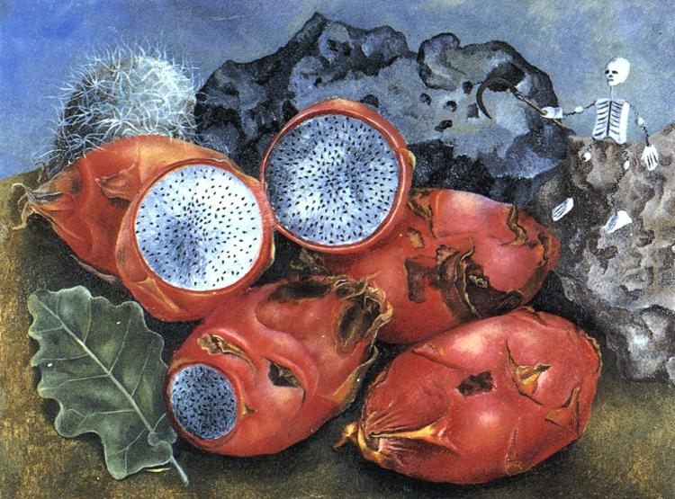 PitahayasFrida Kahlo Famous Paintings Still Life