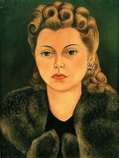 Portrait of Natasha Gelman, 1943 - Frida Kahlo