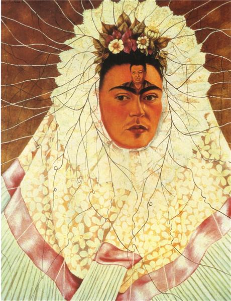 Self Portrait as a Tehuana, 1940 - 1943 - Frida Kahlo