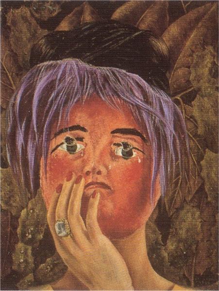 The Mask, 1945 - Frida Kahlo