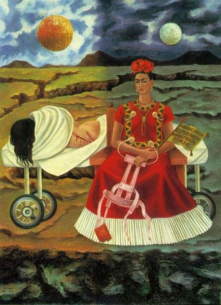Tree of Hope, Remain Strong, 1946 - Frida Kahlo