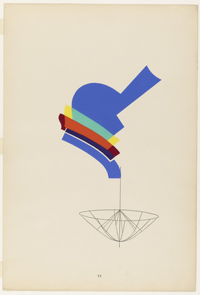 Decanter from the portfolio Revolving Doors, 1926 - Man Ray