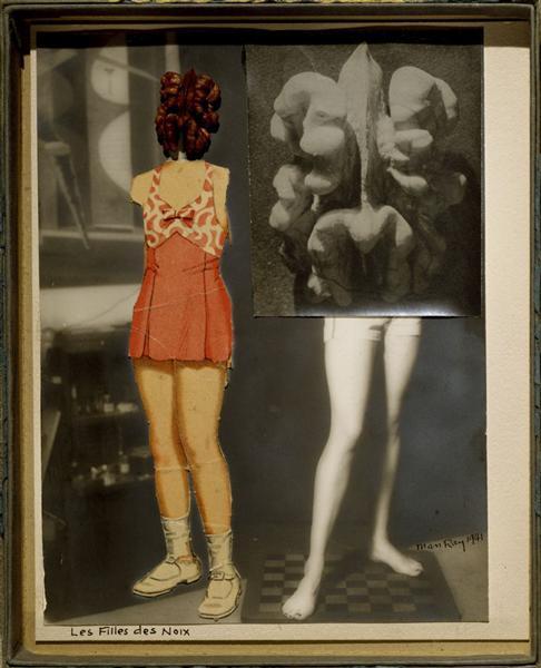 Nut Girls (Les Filles des Noix), 1941 - Man Ray