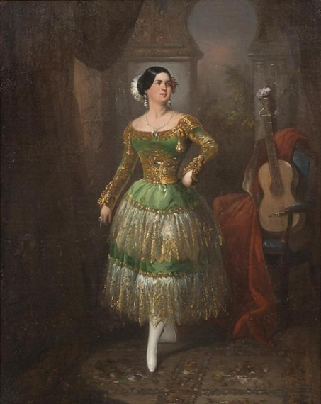 Lady of Sevilla, 1851