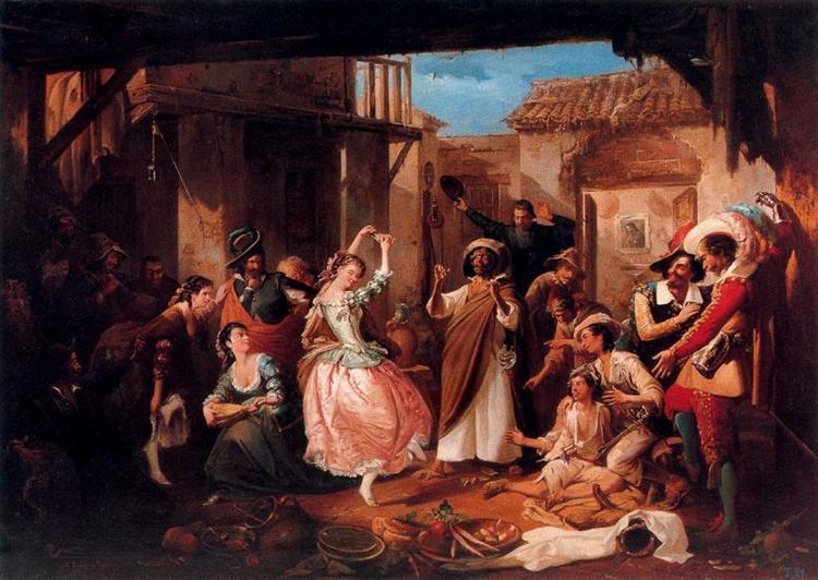 Rinconcete y Cortadillo, 1865 - Manuel Rodriguez de Guzman