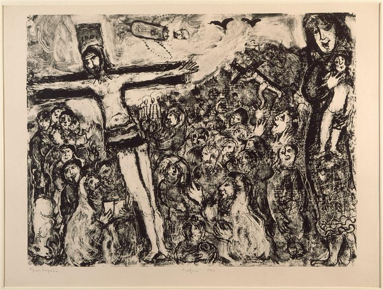 Crucifixion - Marc Chagall - WikiArt.org - encyclopedia of ... Marc Chagall Crucifixion
