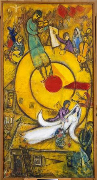 Liberation, 1937 - 1952 - Marc Chagall