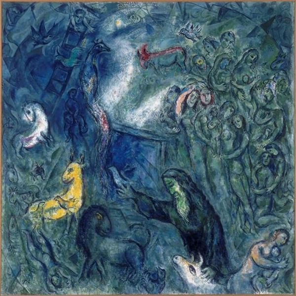 Noah's Ark - Chagall Marc