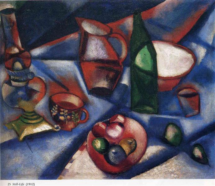 Still life, 1912 - Marc Chagall
