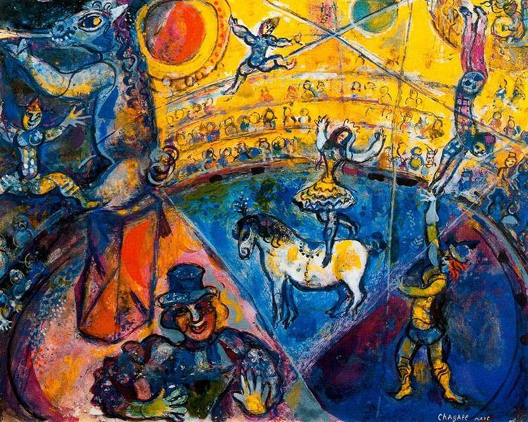 The circus, 1964 - Marc Chagall