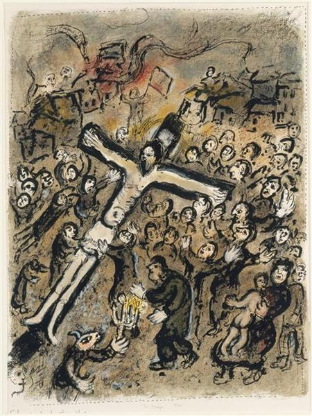 The Martyr 1970 Marc Chagall Wikiart