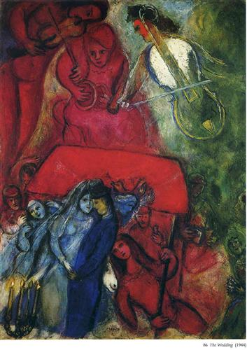 The Wedding - Marc Chagall