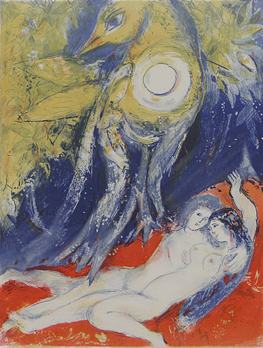 Then said the King in himself..., 1948 - Marc Chagall
