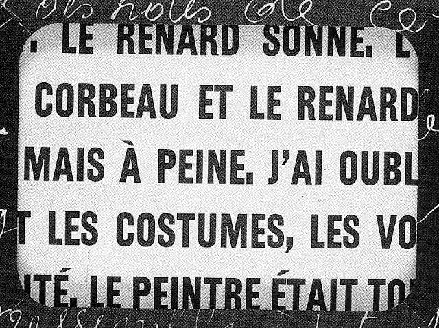 Le Corbeau et le Renard, 1967 - Marcel Broodthaers