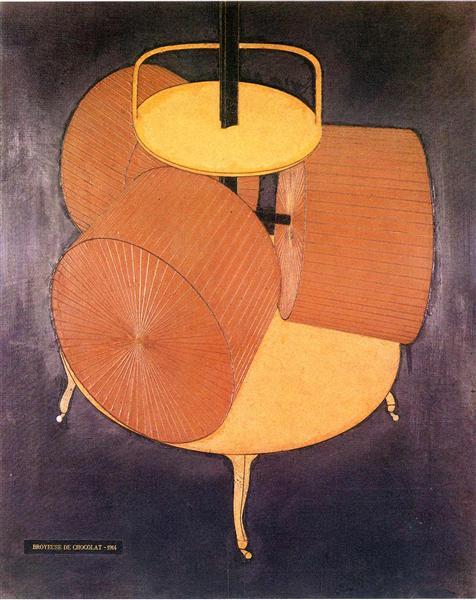 Chocolate Grinder, 1914 - Marcel Duchamp