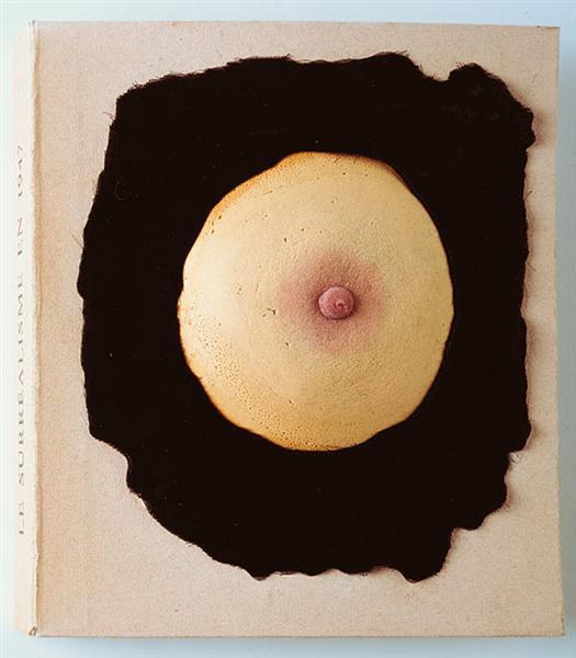 """Please touch - Cover design for """"Le Surréalisme"""", 1947 - Marcel Duchamp"""