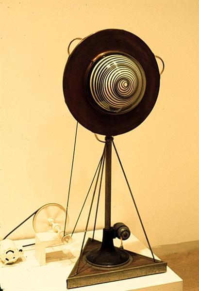 Rotary demisphere - Marcel Duchamp