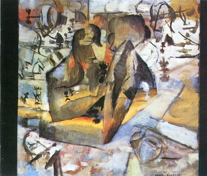 The Chess Players, 1911 - Marcel Duchamp