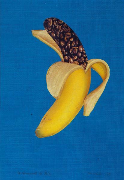 Province de Hainaut & Banane, Le carnaval de Rio, 1974 - Marcel Marien
